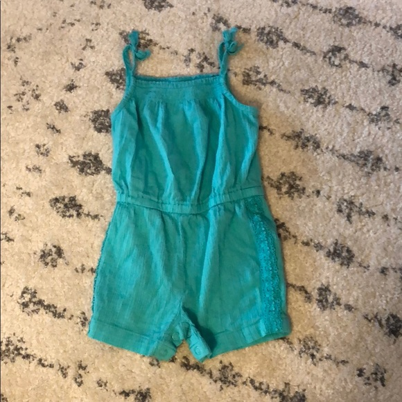 Carter's Other - Teal romper size 9 months